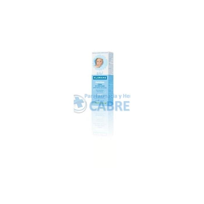 Klorane Bebé Crema Nutritiva 40 ml