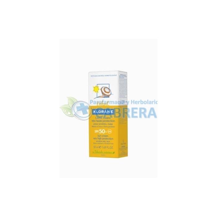Klorane Bebé Crema Solar SPF50+ 50 ml