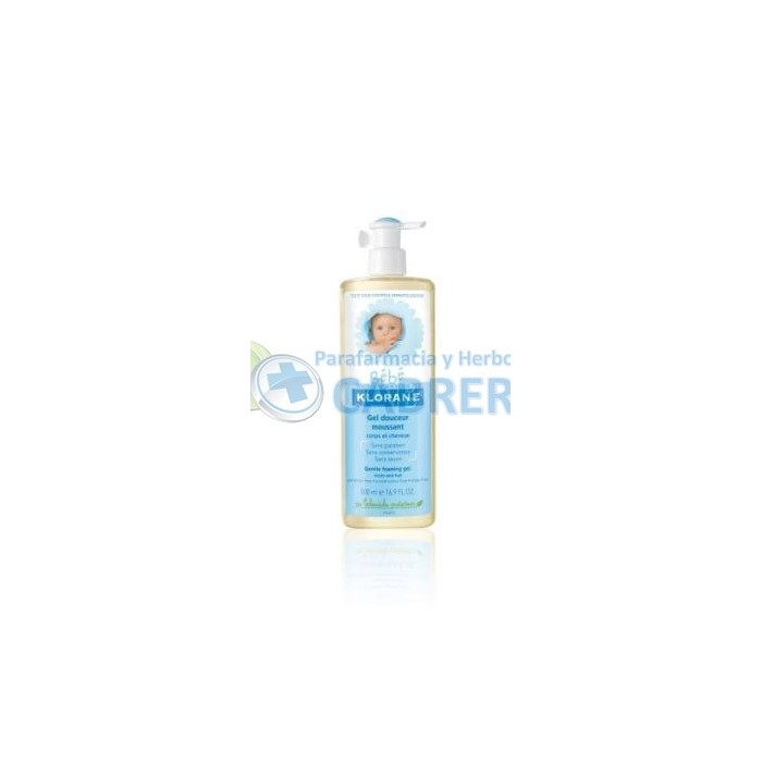 Klorane Bebé Gel Cuerpo y Cabello 500 ml