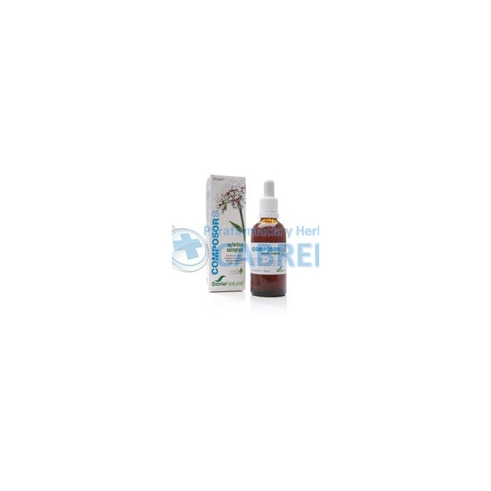 Soria Natural Composor 5 Valerian complex 50 ml