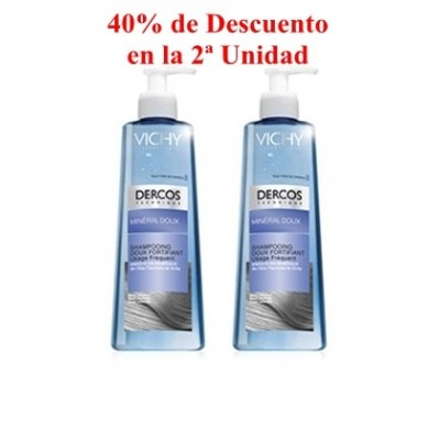 Vichy Dercos Champú Mineral Fortificante