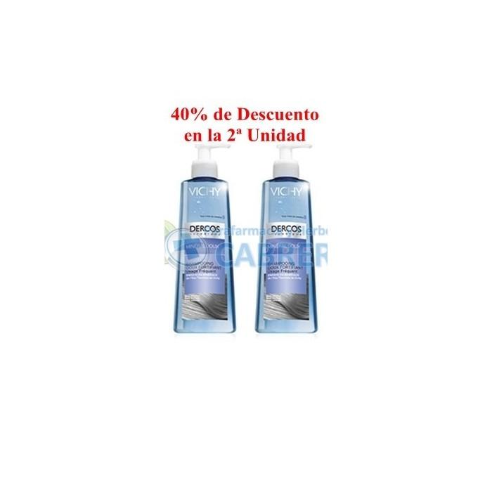 Vichy Dercos Champú Mineral Fortificante 400 ml