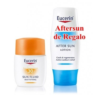 Eucerin Solar Fluido Matificante SPF30 50 ml
