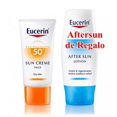 Eucerin Solar Crema SPF50+ 50 ml (Regalo de Aftersun de 150 ml)