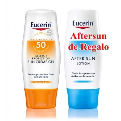 Eucerin Solar Allergy Crema-Gel SPF50+ 150 ml