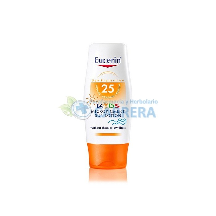 Eucerin Solar Niños Loción Mineral SPF25 150 ml