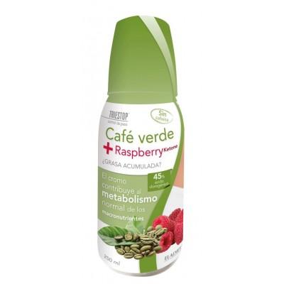 Eladiet Triestop Café Verde + Raspberry líquido 250 ml