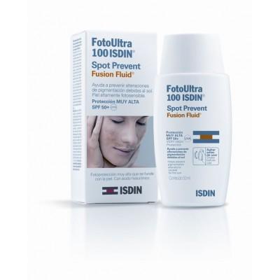 Isdin Fotoprotector Ultra Spot Prevent Fusión Fluid SPF100+ 50 ml