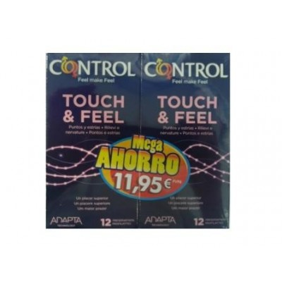 Preservativos Control Adapta Touch & Feel 12 unidades