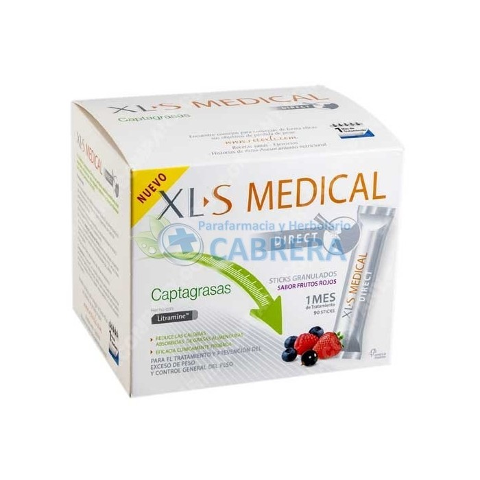 XLS Medical Captagrasa 90 sticks