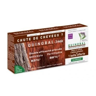Klorane Quinoral Anticaída Pack 3 meses