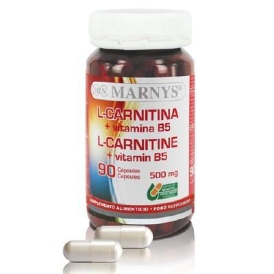 Marnys L-Carnitina + Vit. B5 cápsulas
