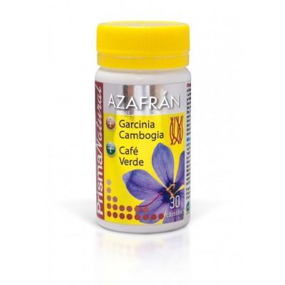 Azafrán + Café Verde + Garcinia Cambogia