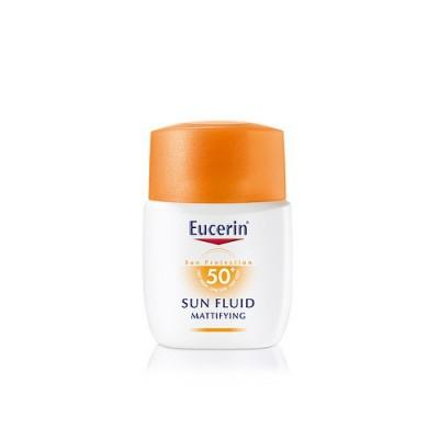 Eucerin Solar Fluido Matificante SPF50+ 50 ml