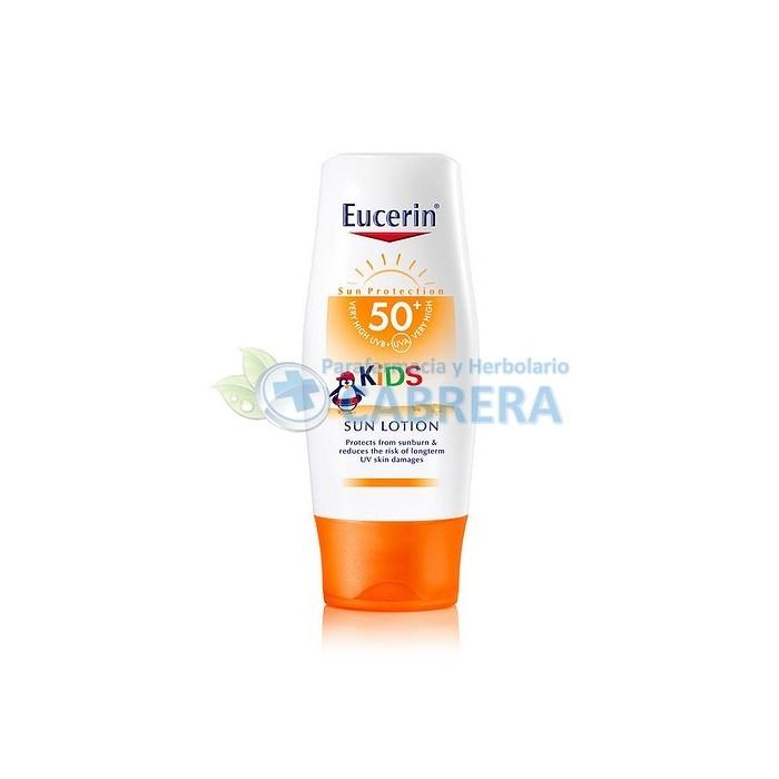 Eucerin Solar Niños Loción SPF50+ 150 ml