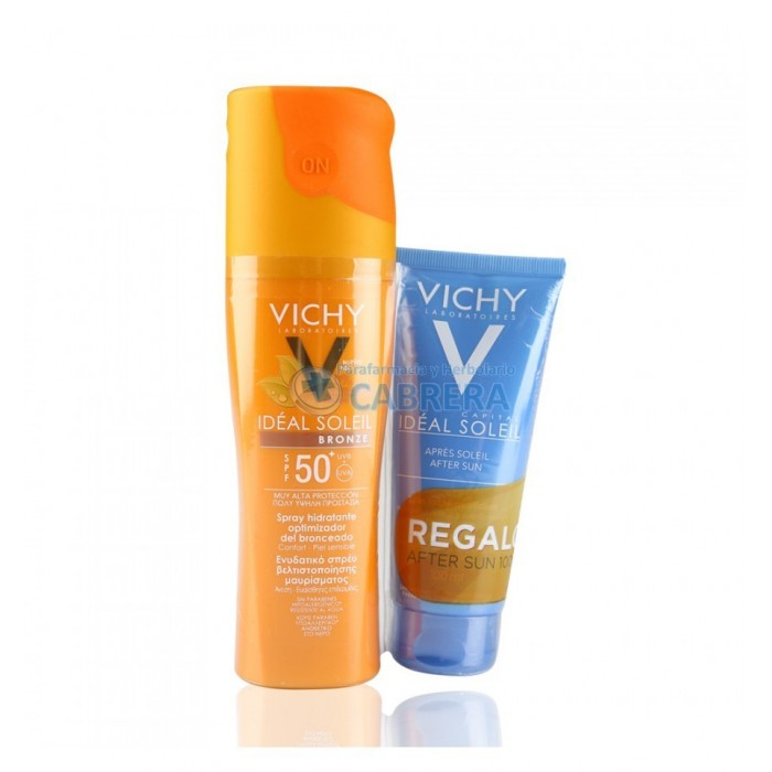 Vichy Ideal Soleil Spray Corporal Bronze + Aftersun 100ml de regalo