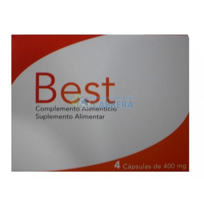 Best (antes ZR-Zetra) 400 mg 4 cápsulas