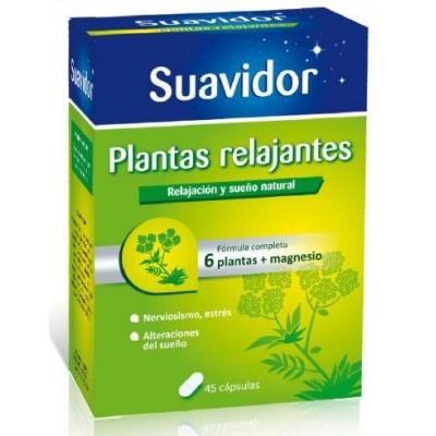 Suavidor Plantas Relajantes 45 cápsulas