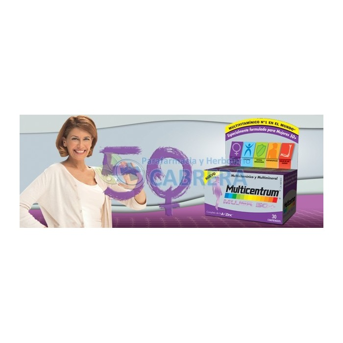 Multicentrum Select 50+ Mujer