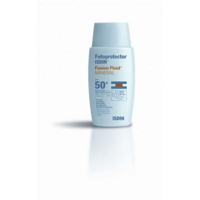 Isdin Fotoprotector Fusión Fluid Mineral SPF50+ 50 ml