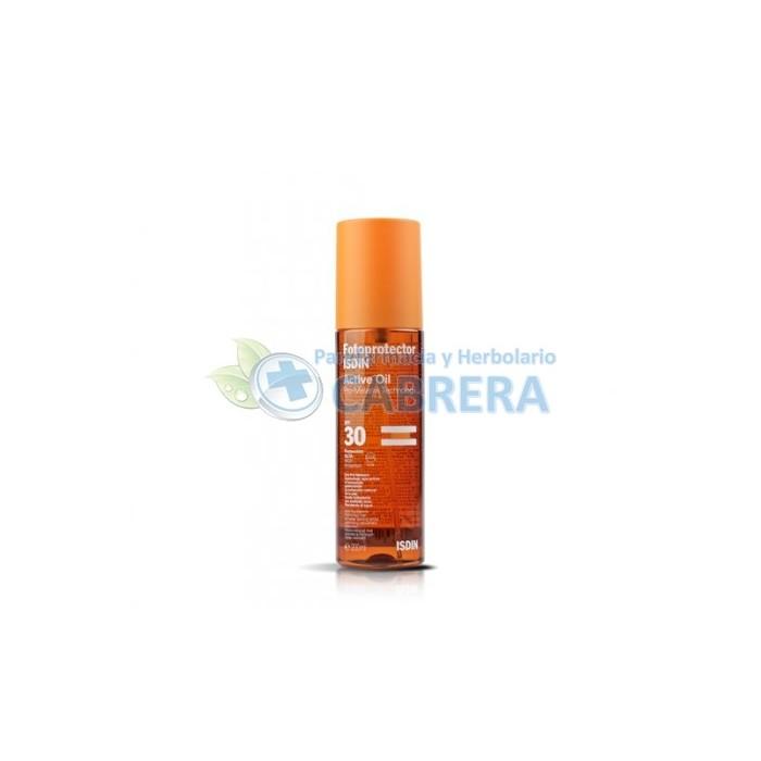 Isdin Fotoprotector Active Oil SPF30 200 ml