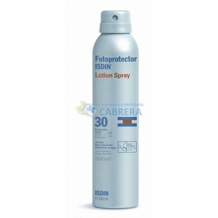 Isdin Fotoprotector Spray Transparente SPF30 200 ml