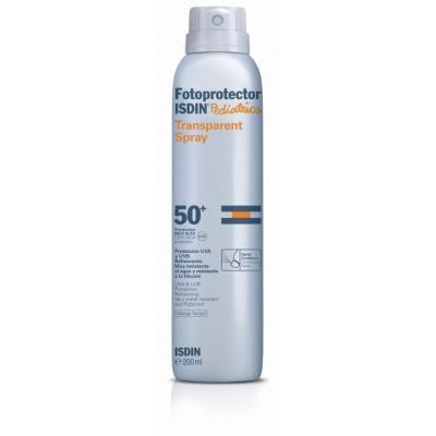 Isdin Fotoprotector Pediátrico Loción Spray Transparente SPF50+ 200 ml