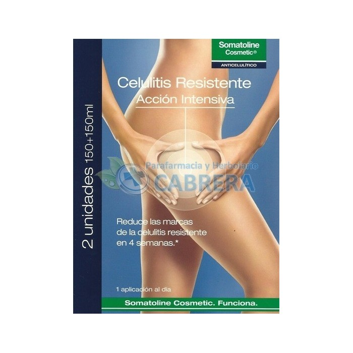 Somatoline Celulitis Resistente duplo 2x150 ml