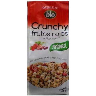 Santiveri Muesli Crunchy Frutos Rojos Bio 325 gr
