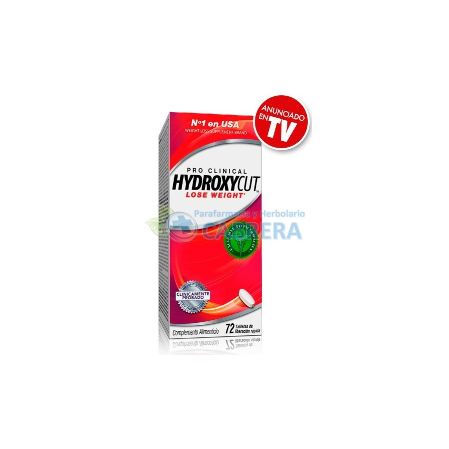 Hydroxycut ingredientes