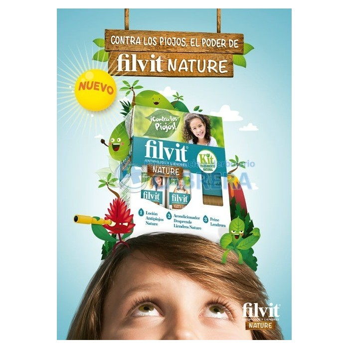Filvit Nature Antipiojos y Liendres
