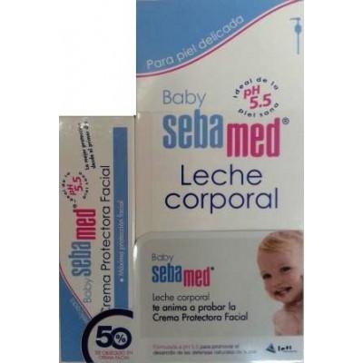 Sebamed Baby Pack Leche Corporal + Crema Facial