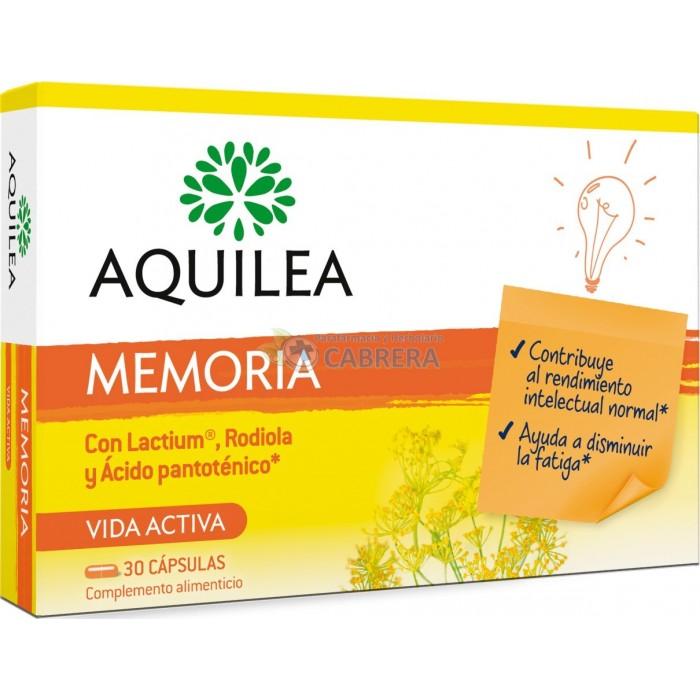 Aquilea Memoria Estudio 30 cápsulas