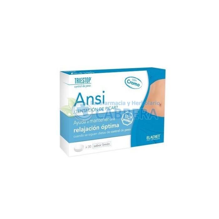 Eladiet Triestop Ansi 30 comprimidos