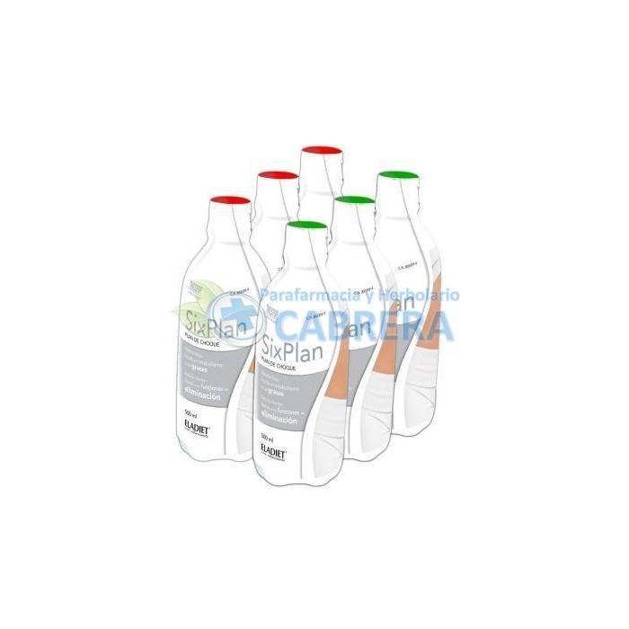 Eladiet Triestop Sixplan 6x500 ml