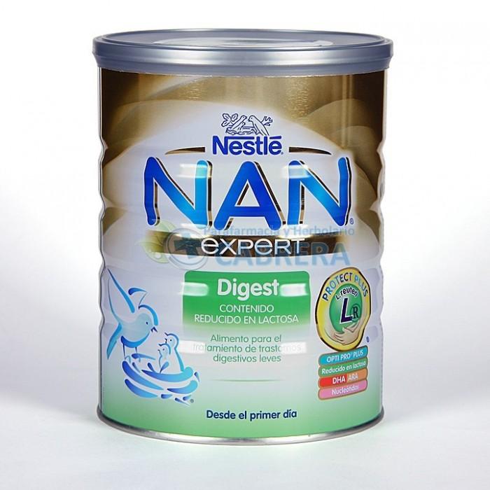 Nestlé Expert Nan-1 Digest Leche Inicio 800 gr