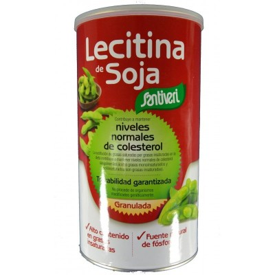 Santiveri Lecitina de Soja Granulada Bote 400 gramos