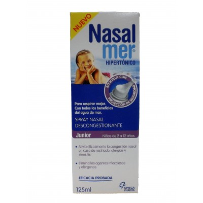 Nasalmer Spray Nasal Hipertónico Junior 125 ml