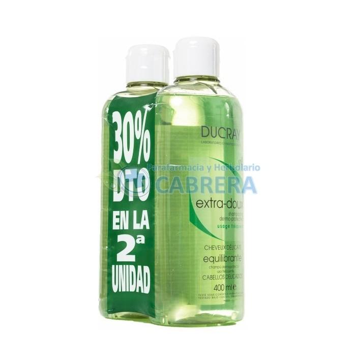 Ducray Champú Equilibrante 2x400 ml