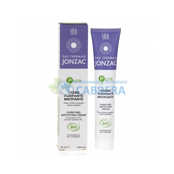 Jonzac Pure Crema Purificante Matificante 50 ml