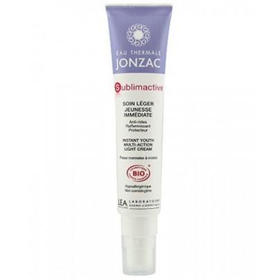 Jonzac Sublimactive Crema Ligera Juventud Inmediata 40 ml
