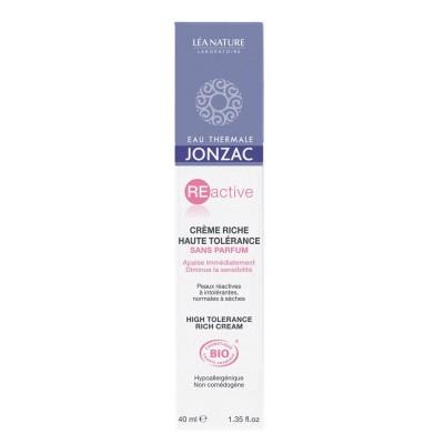 Jonzac Reactive Crema Rica Pieles Reactivas 40 ml