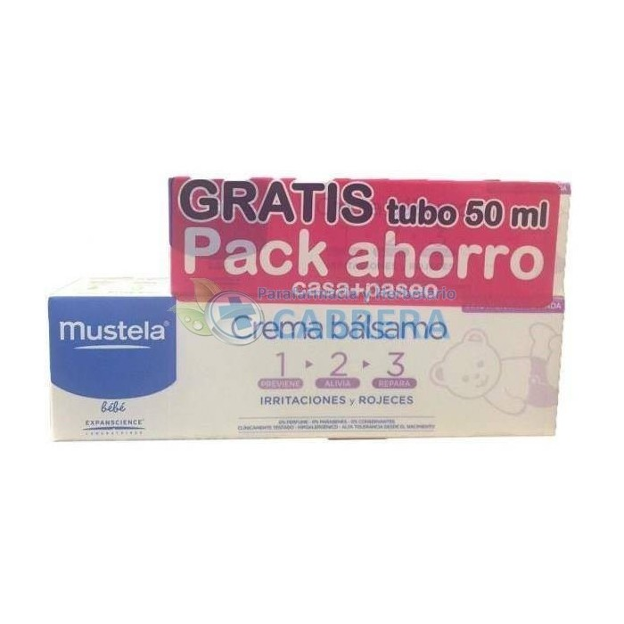 Mustela Crema 1-2-3 Bálsamo duplo 2x100 ml