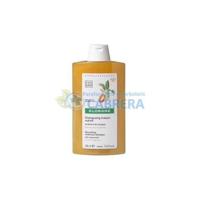 Klorane Champú Manteca de Mango 200 ml