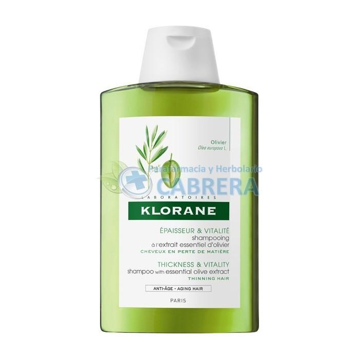 Klorane Champú Extracto Olivo 200 ml