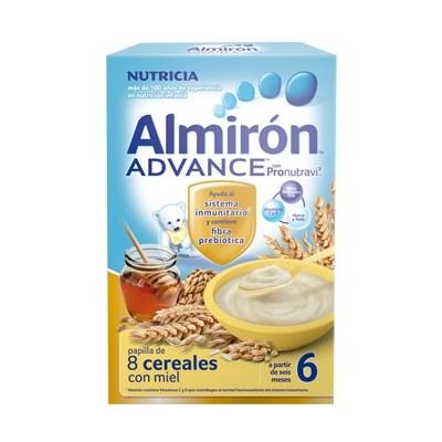 Almirón Advance 8 Cereales con miel 500 gr