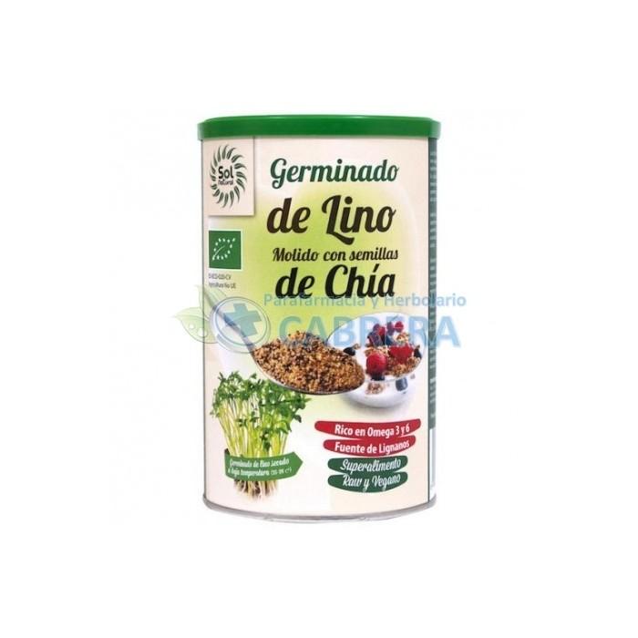 SolNatural Germinado Lino molido y Semillas Chía Bio