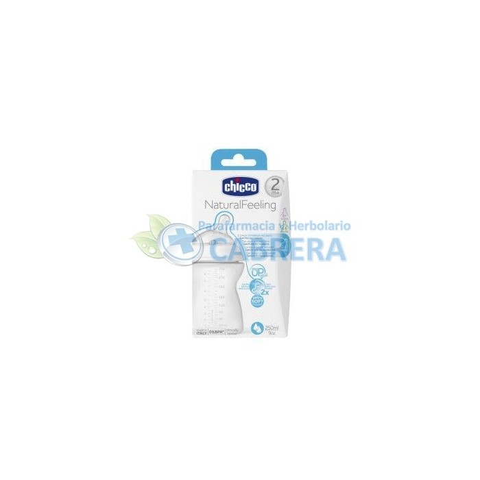 Chicco Biberón Natural Feeling (Step Up) 250 ml