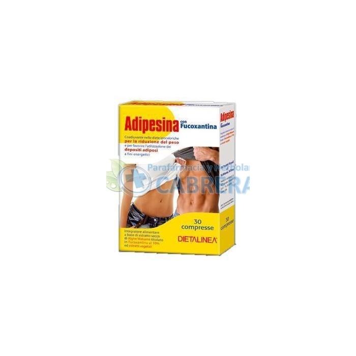 Dietalinea Adipesina con Fucoxantina 30 comprimidos