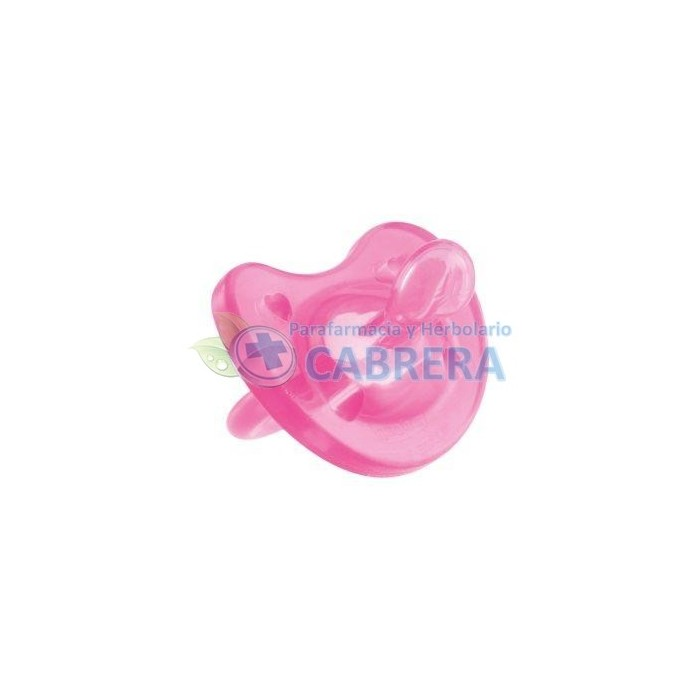 Chicco Chupete Physio Todogoma Silicona Rosa 1 unidad